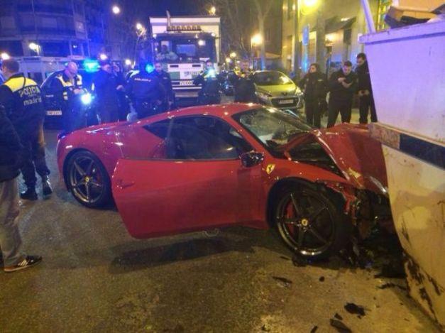 Ferrari italia madrid